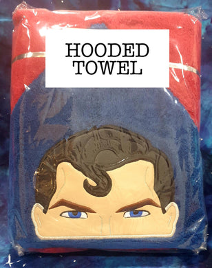 Steel Hero Hooded Towel