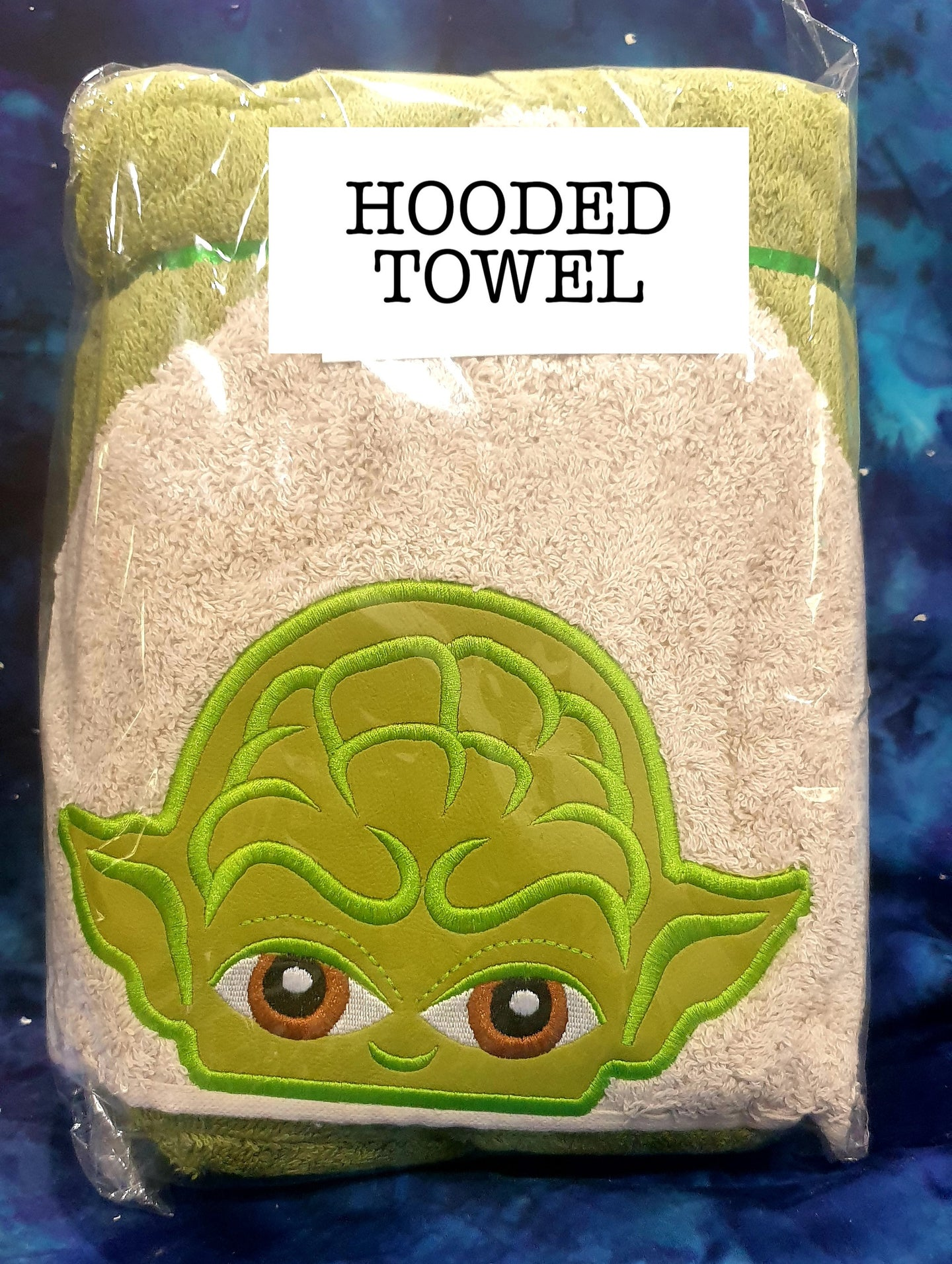 Green Guru Hooded Towel