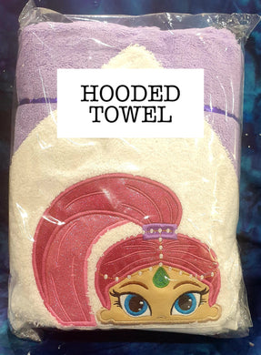 Genie Hooded Towel