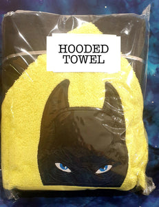Dark Crusader Hero Hooded Towel