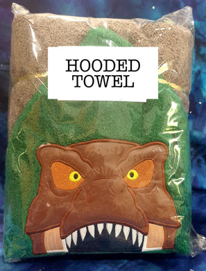 Trex Brown Hooded Towel