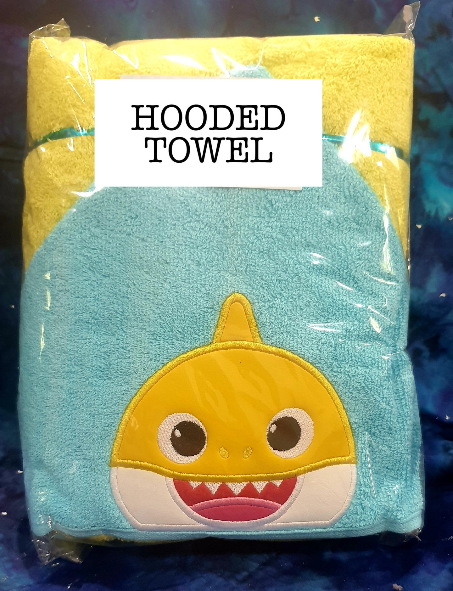 Bubba Shark Hooded Towel