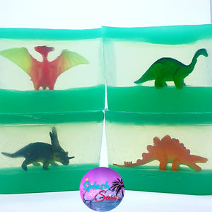 Dinosaur Toy Soap Bars - Splash-&-Sass