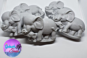 Elephant Soap Bars - Splash-&-Sass