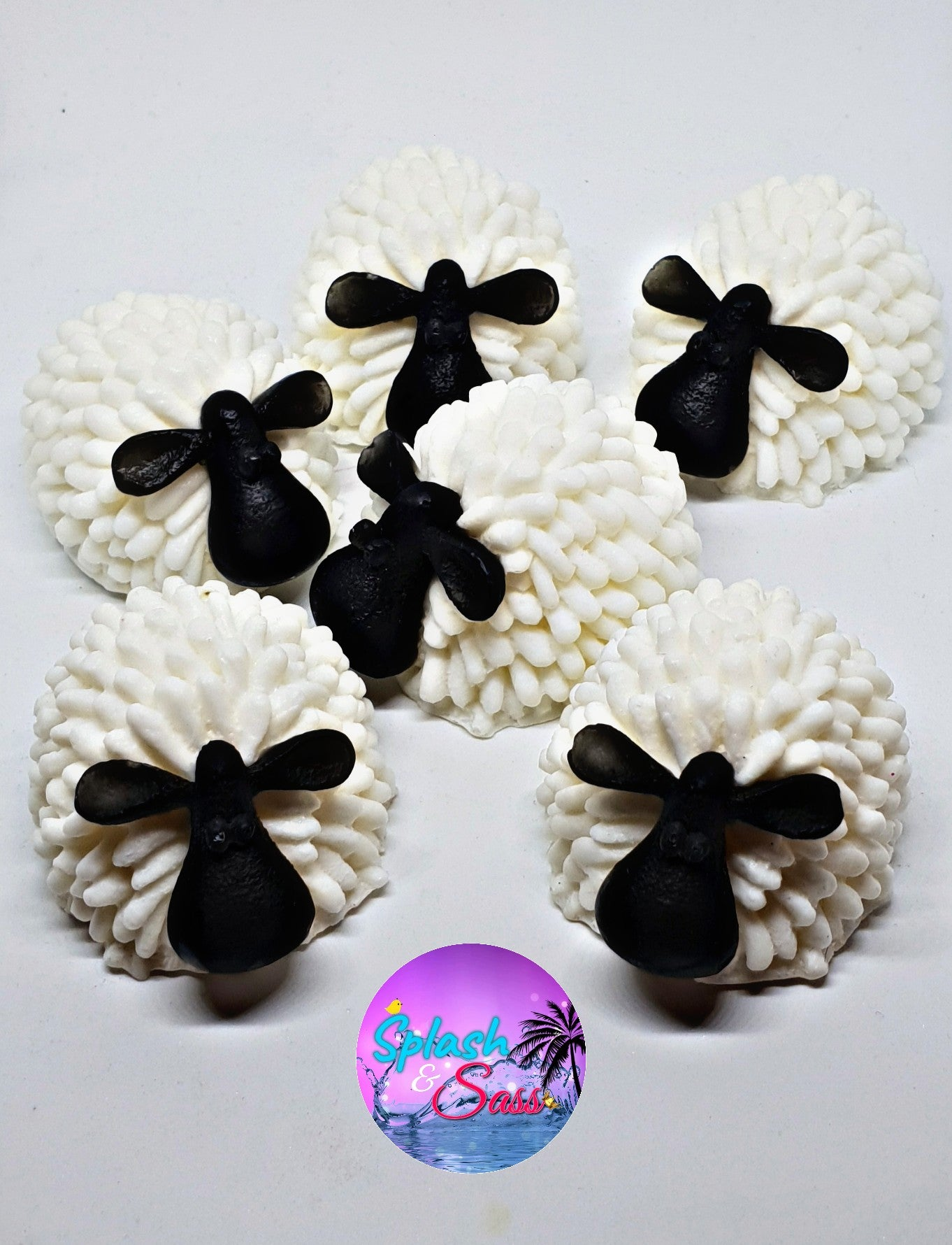 Sheep soaps - Splash-&-Sass