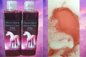 Unicorn Splash Bubbles & Colour - Pink