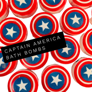 The Captain inspired Disc Bath Bomb - Splash-&-Sass