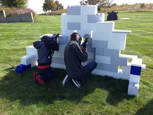Customize your paintball forts as needed