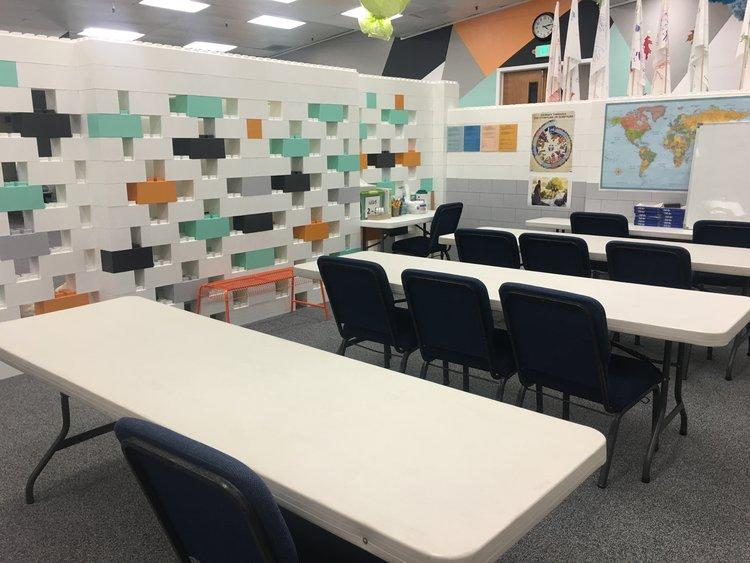 Create complete classrooms using EverBlock and add an innovative feel to any educational space