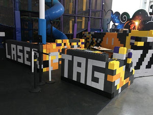 Use to create complex mazes, laser-tag arenas, escape rooms, and complexes of all types