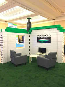 Add graphics and create unique, eye-catching elements to your trade show display