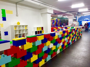 Divider room for playroom