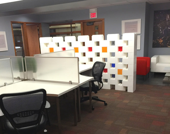 Modular cubicle system for offices
