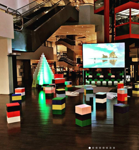 Use EverBlock to create fun event spaces, unique event displays, and LED illuminated decor.