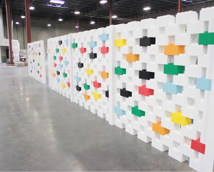 Create beautiful room dividers and modular walls for residential, office, and industrial uses.