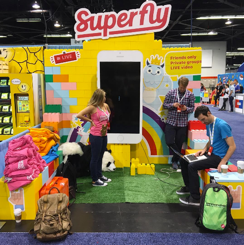 Build booth shells and then add vinyl printed graphics to create beautiful custom displays