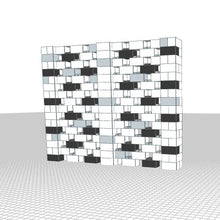 Load image into Gallery viewer, Stagger Pattern Wall - 10 x 8 Ft