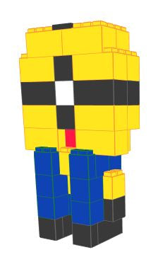 Figure - Minion - 2 Ft 6 In x 1 Ft 6 In x 4 Ft 7 In