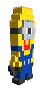 Figure - Tall Minion - 3 Ft 6 In x 1 Ft 3 In x 7 Ft 1 In