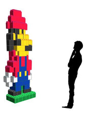 Load image into Gallery viewer, Figure - Super Mario - 3 Ft 6 In x 1 Ft 6 In x 8 Ft 7 In