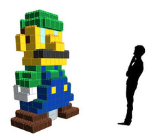 Load image into Gallery viewer, Figure - Luigi - 6 Ft x 2 Ft 6 In x 8 Ft 1 In