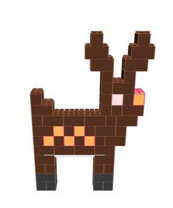 Figure - Reindeer - 5 Ft 6 In x 1 Ft x 7 Ft 7 In