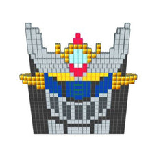 Load image into Gallery viewer, Mosaic Model - Mazinger Z - 14 Ft x 2 Ft 3 In x 13 Ft 1 In