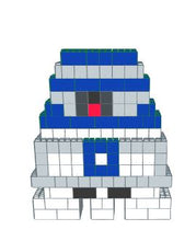 Load image into Gallery viewer, Mosaic Model - R2D2 - 6 Ft x 1 Ft 6 In x 7Ft 1 in