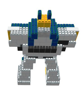Model - Giant Fighting Robot - 6 Ft x 2 Ft 9 In x 8 Ft 1 In