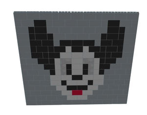 Mosaic Wall - Mickey Mouse