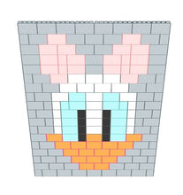 Load image into Gallery viewer, Mosaic Wall - Daisy Duck - 8 Ft x 6 In x 9 Ft 1 In