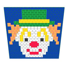 Load image into Gallery viewer, Mosaic Wall - Clown Wall - 17 Ft x 6 In x 15 Ft 7 In