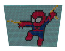 Load image into Gallery viewer, Mosaic Wall - Spider-Man - 20 Ft 6 In x 6 In x 15 Ft 6 In