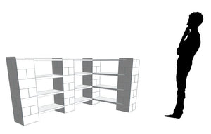 Shelving - Corner Shelves Thick 1-2 x4