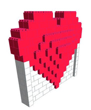 Load image into Gallery viewer, Mosaic Model - Heart - 8 Ft 6 In x 2 Ft 6 In x 7 Ft