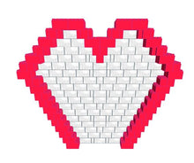 Load image into Gallery viewer, Mosaic Model - Heart - 11 Ft 6 In x 1 ft 6 in 9 Ft