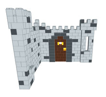 Load image into Gallery viewer, Booth - Castle Design - 9 Ft 6 In x 9 Ft 6 In x 7 Ft 7 In