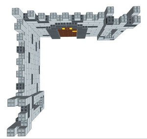 Booth - Castle Design - 9 Ft 6 In x 9 Ft 6 In x 7 Ft 7 In