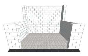 Booth - Detailed Short Returns - 10 x 10 Ft