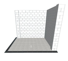 Load image into Gallery viewer, Booth - Corner Style W/ Floor - 10 x 10 x 8 Ft