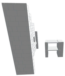 Booth - Detailed W/ Table - 10 x 8 Ft