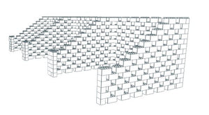 Booth - Stagger Pattern - 30 x 10 Ft