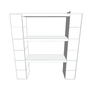 "Shelving - 3 Level, 36""W EverBlock Shelving Kit"