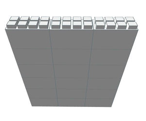 "EverBlock 12"" x 6"" Full Bulk Pack - 18 Blocks"
