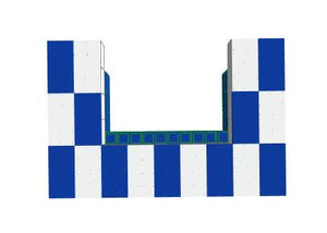 Favorite Teams - Bar -University of Kentucky - 4 x 3 x 3 Ft 7 In