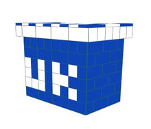 Load image into Gallery viewer, Favorite Teams - Bar -University of Kentucky - 4 x 3 x 3 Ft 7 In