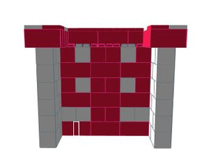 Favorite Teams - Bar - University of Indiana - 4 x 3 x 3 Ft 7 In