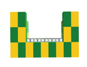 Favorite Teams - Bar - Green Bay Packers NFL - 4 x 3 x 3 Ft 7 In