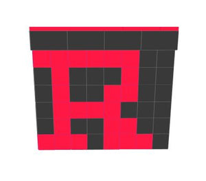 Favorite Teams - Bar - Rutgers University - 4 x 3 x 3 Ft 7 In