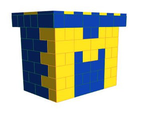 Favorite Teams - Bar - University of Michigan- 4 x 3 x 3 Ft 7 In